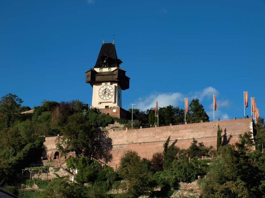 Viver em Graz: visitar Torre do Relógio