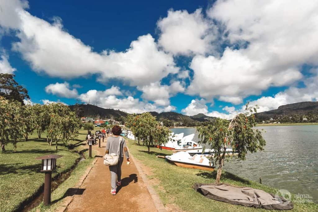 Lago Gregory, em Nuwara Eliya