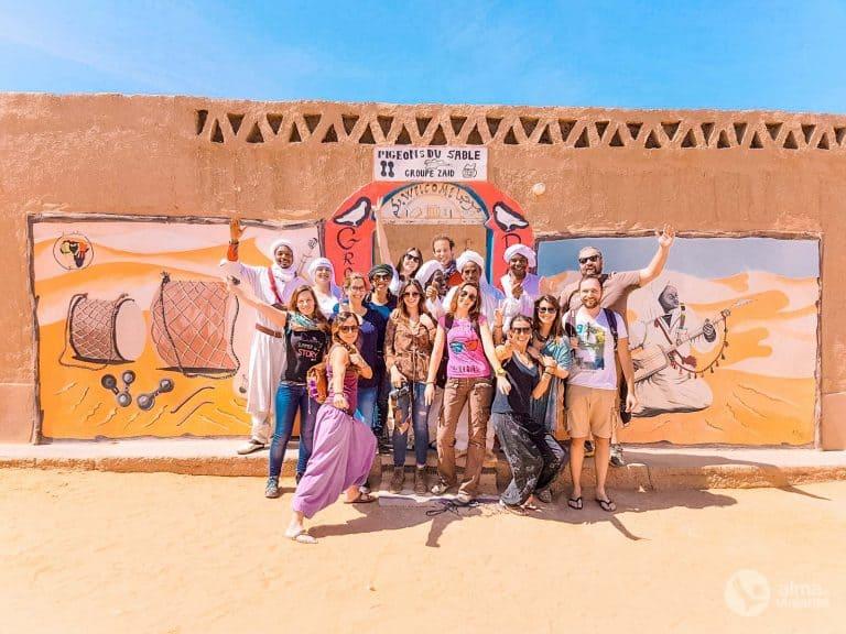 Grupo tour Marrocos