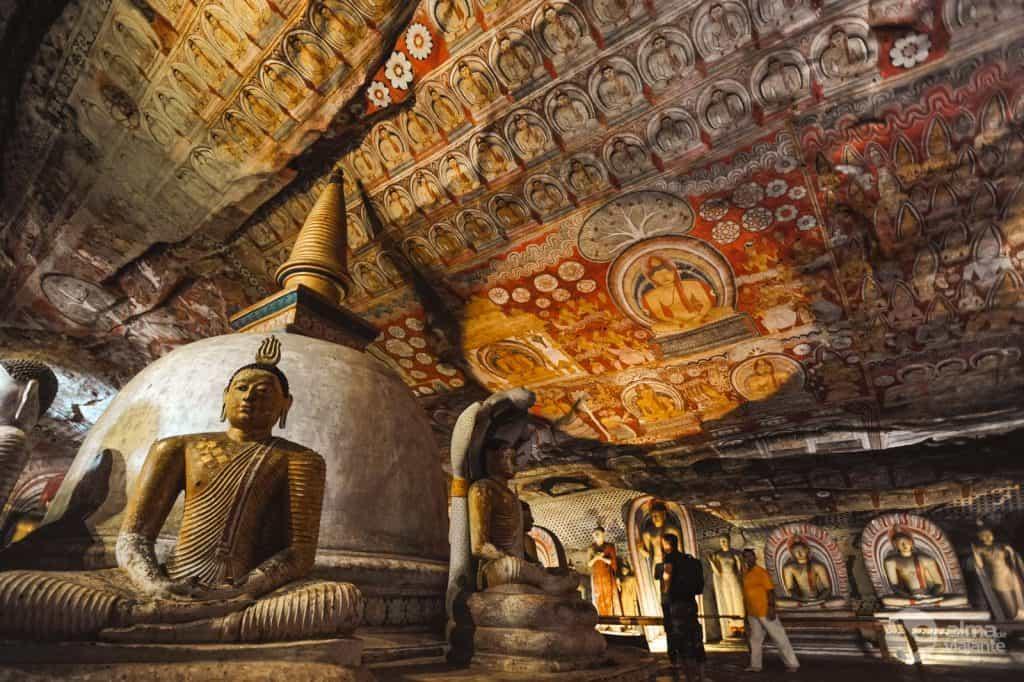 Templo principal de Dambulla