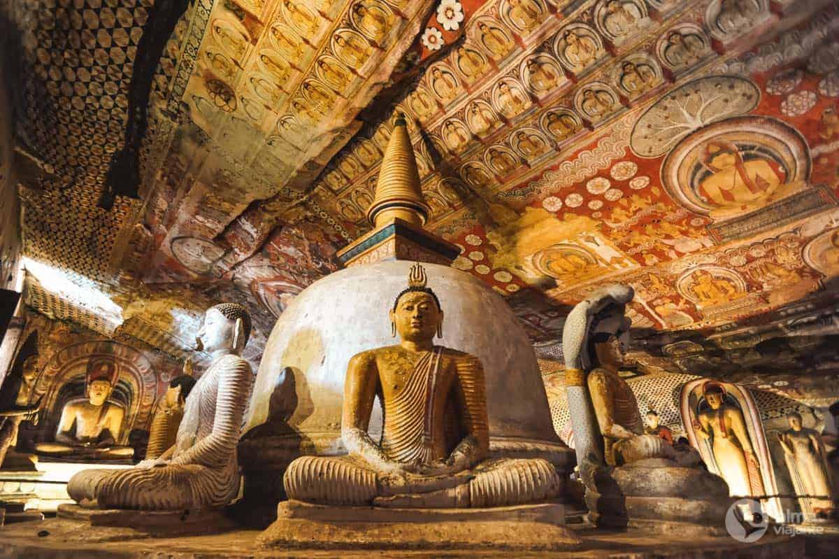 Grutas de Dambulla, Sri Lanka