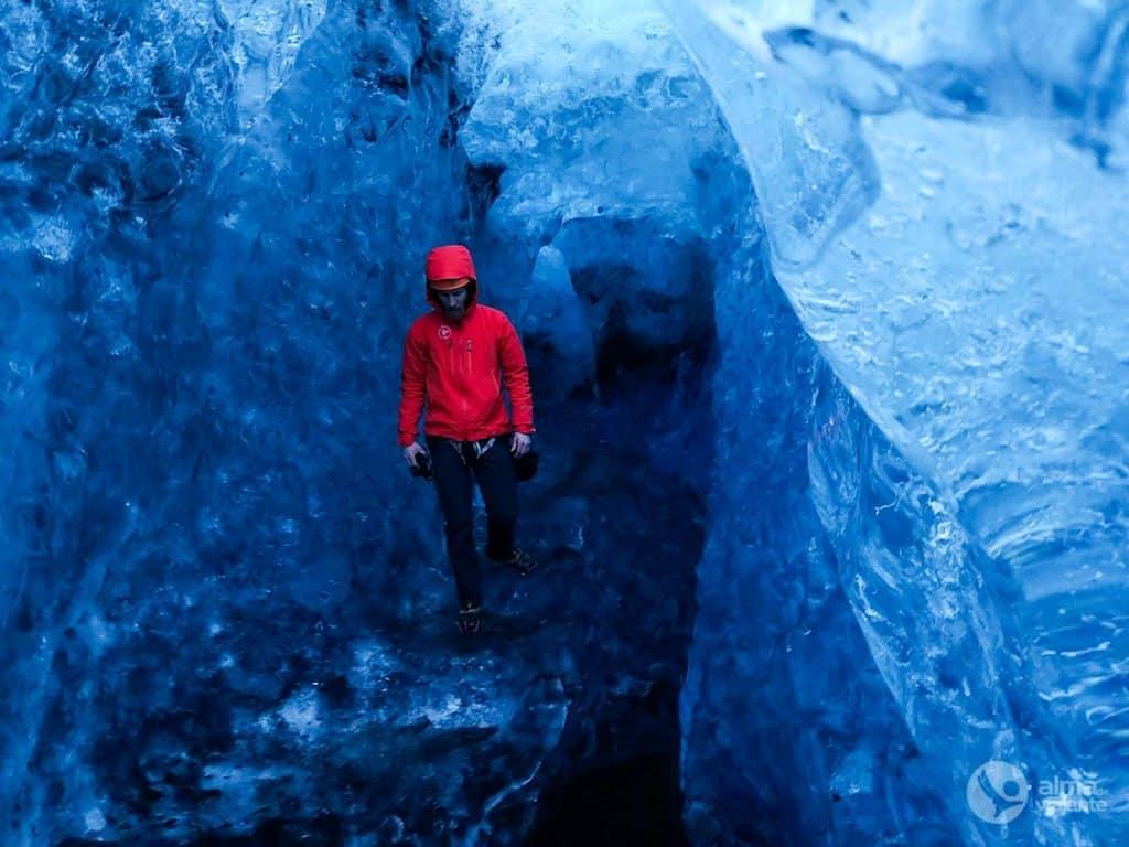 Foto de telemóvel: grutas de gelo