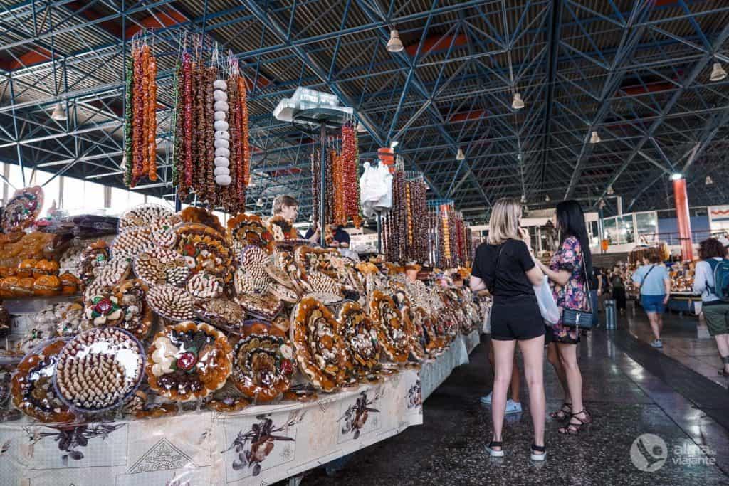 O que fazer em Yerevan: visitar Gum Market