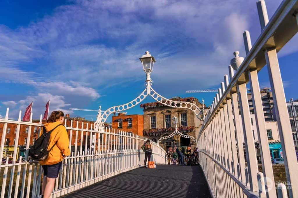 O que ver em Dublin: Ponte Ha'penny