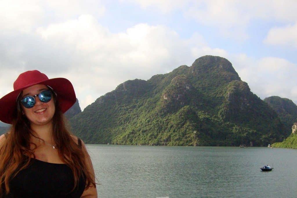 Halong Körfezi'nde yaşamak: Joana Sousa