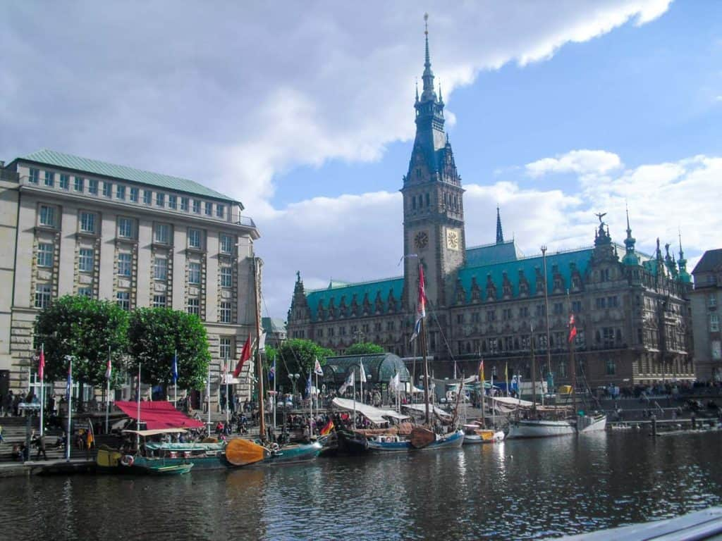 Town hall, Hamburgo