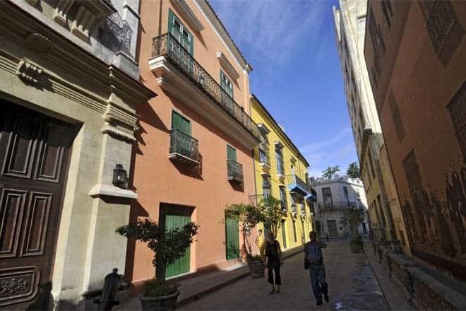 Sögulegt miðbæ Havana
