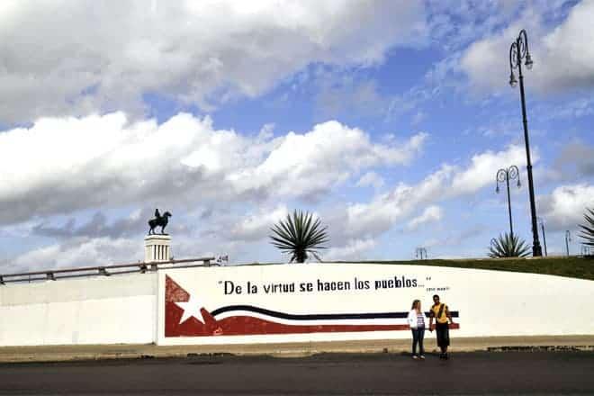 Veggmynd í Havana, Kúbu
