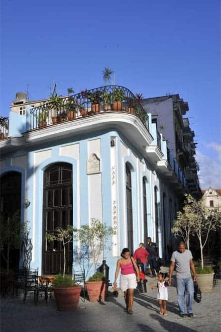 Horn á Gamla torginu, Havana