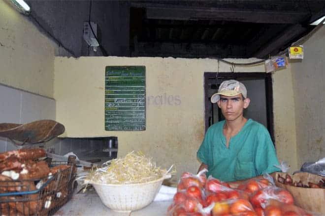 Staðbundin matvöruverslun, Havana