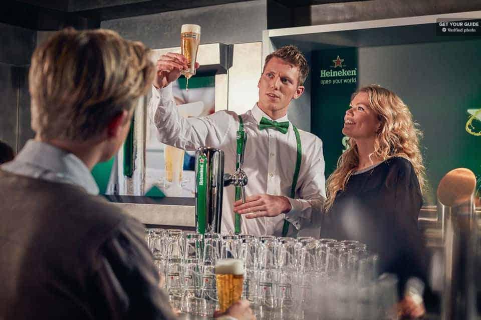 Melhores atrações de Amesterdão: Heineken Experience