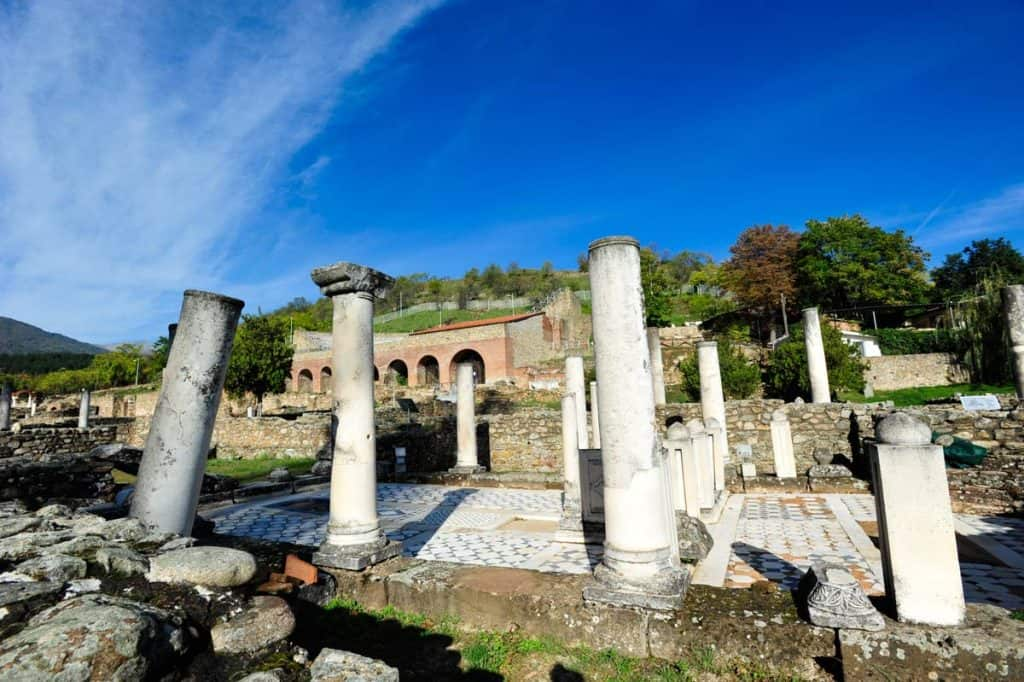 Termas de Heraclea Lyncestis, Bitola