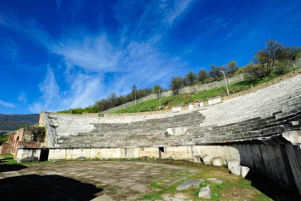 O teatro de Heraclea Lyncestis