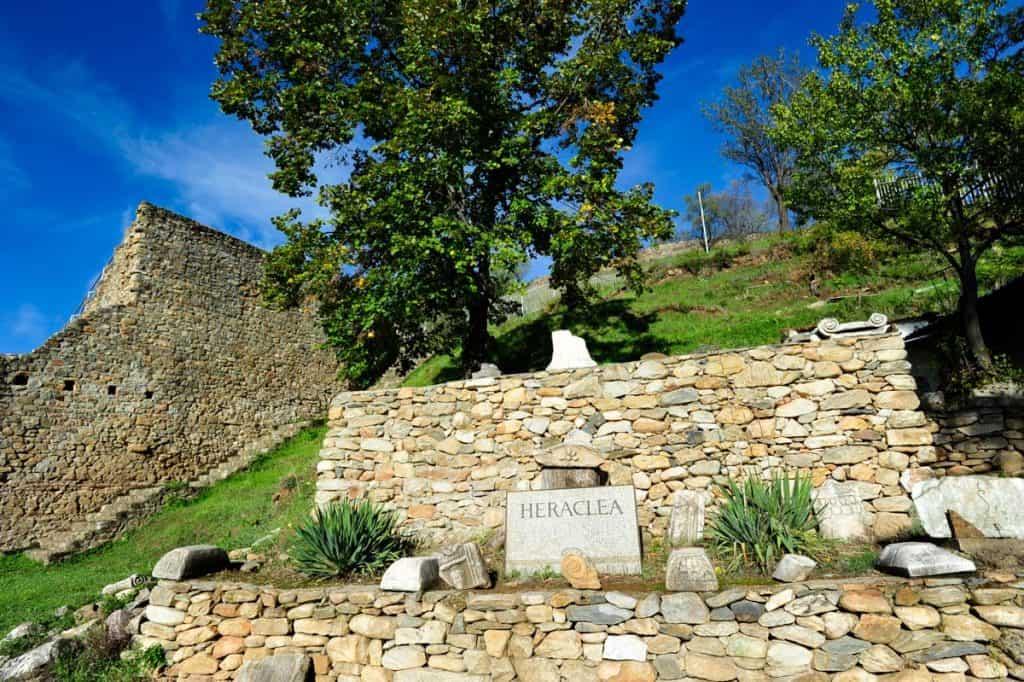 Visitar Bitola: Heraclea Lyncestis