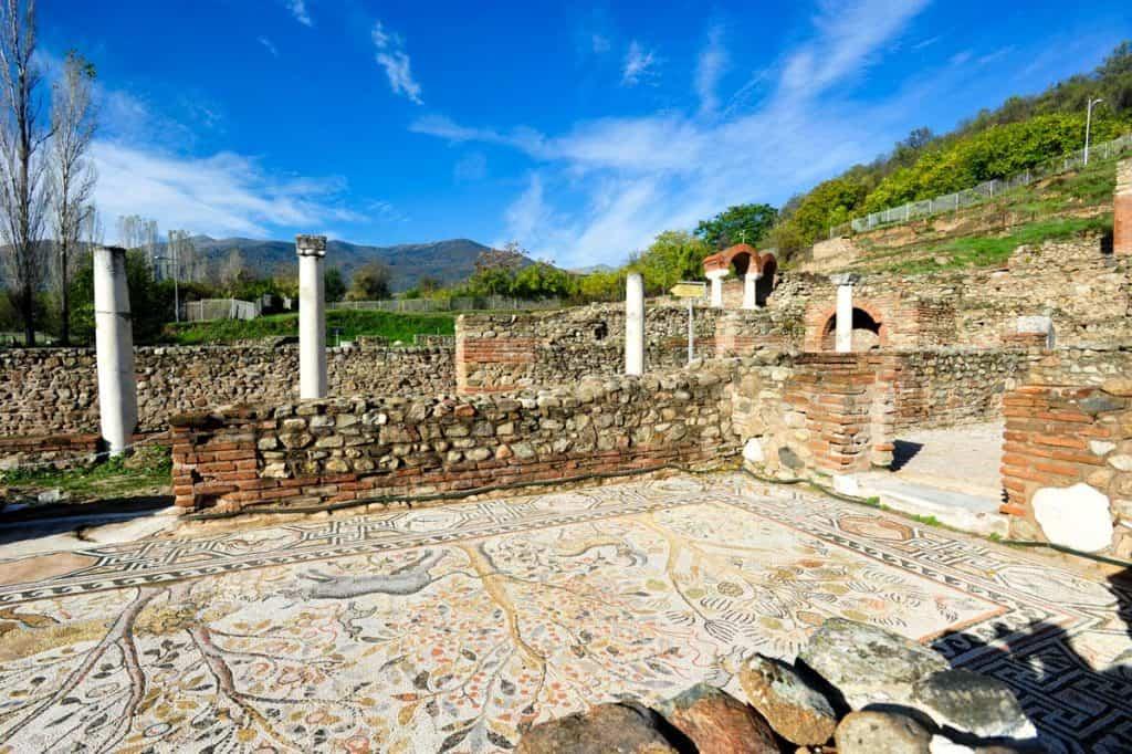 Mosaicos em Heraclea Lyncestis