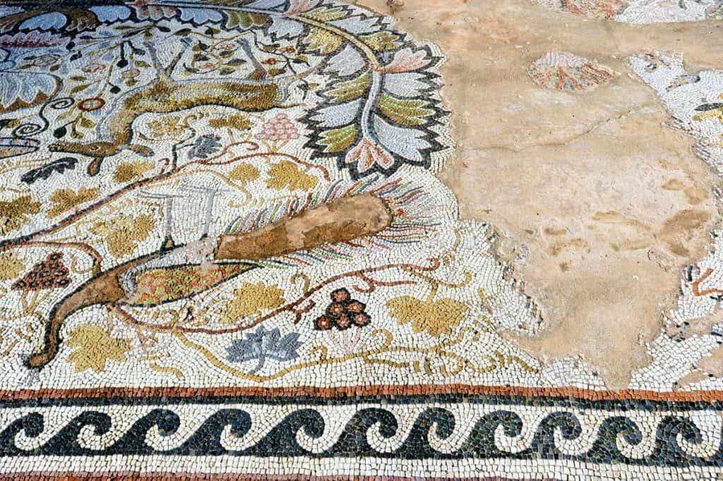 Mosaicos Heraclea Lyncestis