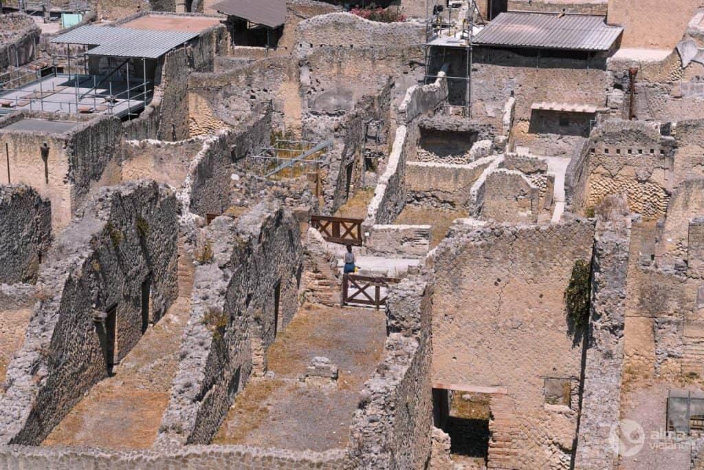 Herculaneum rústir, Ítalía