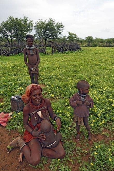 Família Himba