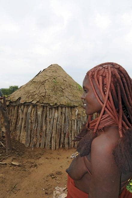 Simpatia e hospitalidade Himba, Noroeste da Namíbia