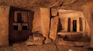 Hipogeu de Hal Saflieni, um tesouro pré-histórico escavado em Malta