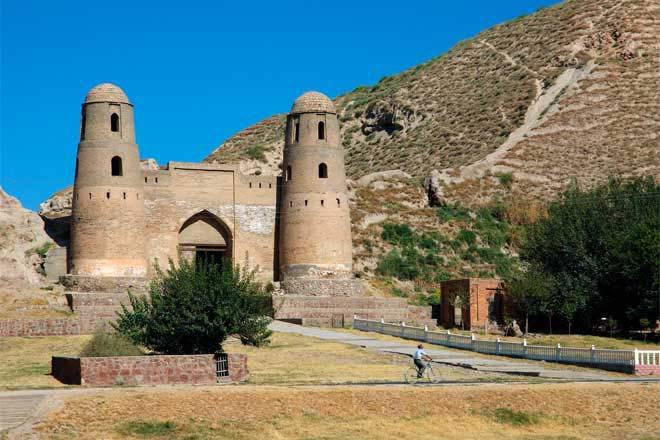 Fortaleza em Hissar, Tajiquistão