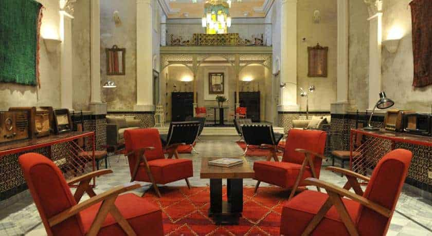 Lobby do Hotel L'iglesia, El Jadida