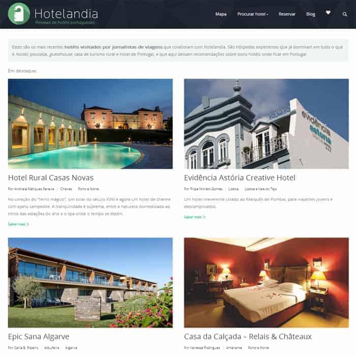 Site da Hotelandia