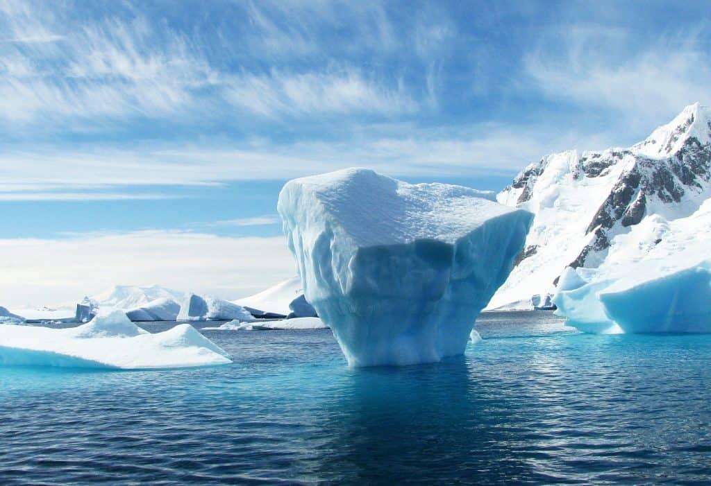 Iceberg na Antártida