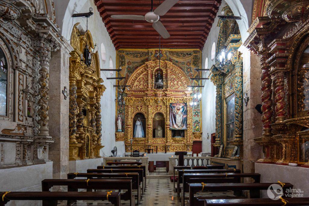 O que fazer em Campeche: visitar  Igreja de São Roque