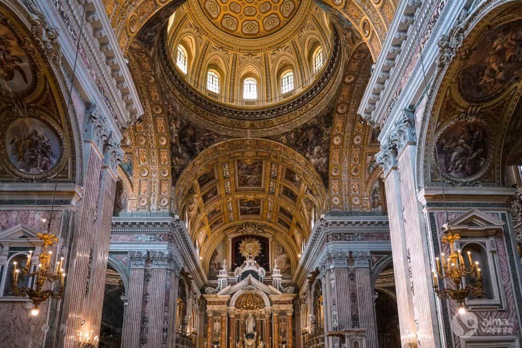 Igreja do Jesus Novo, Nápoles