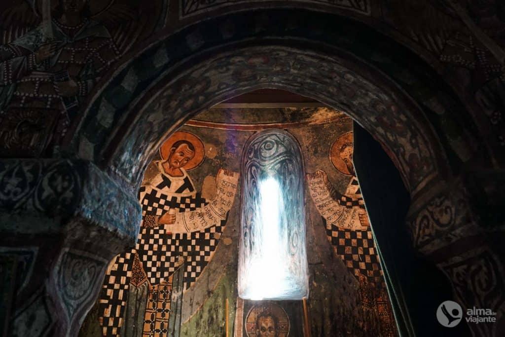 Frescos na Catedral da Transfiguração, Mestia
