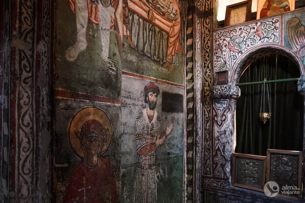 Frescos da Igreja de Laghami, Mestia