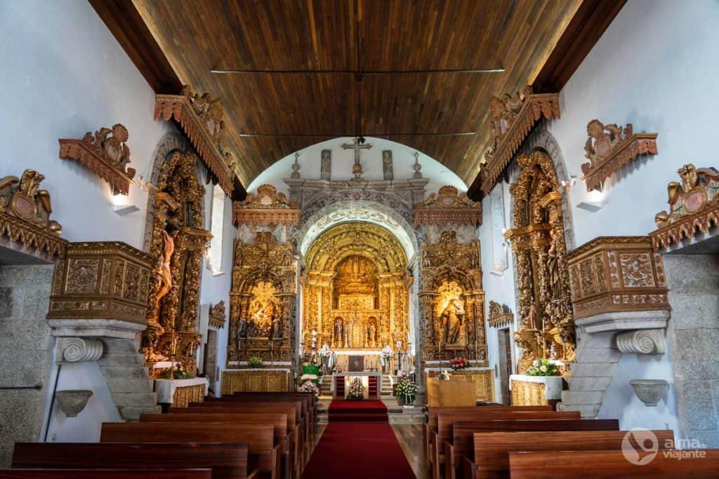 O que visitar em Paredes: Igreja de São Cristóvão, Louredo