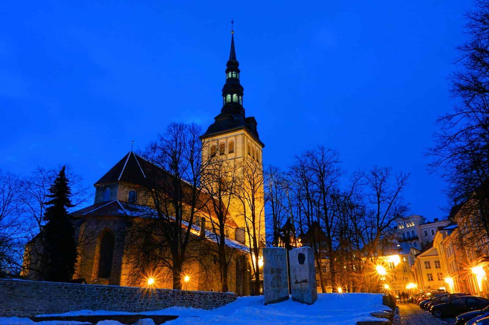 Igreja S. Nicholas, Tallinn, Estónia