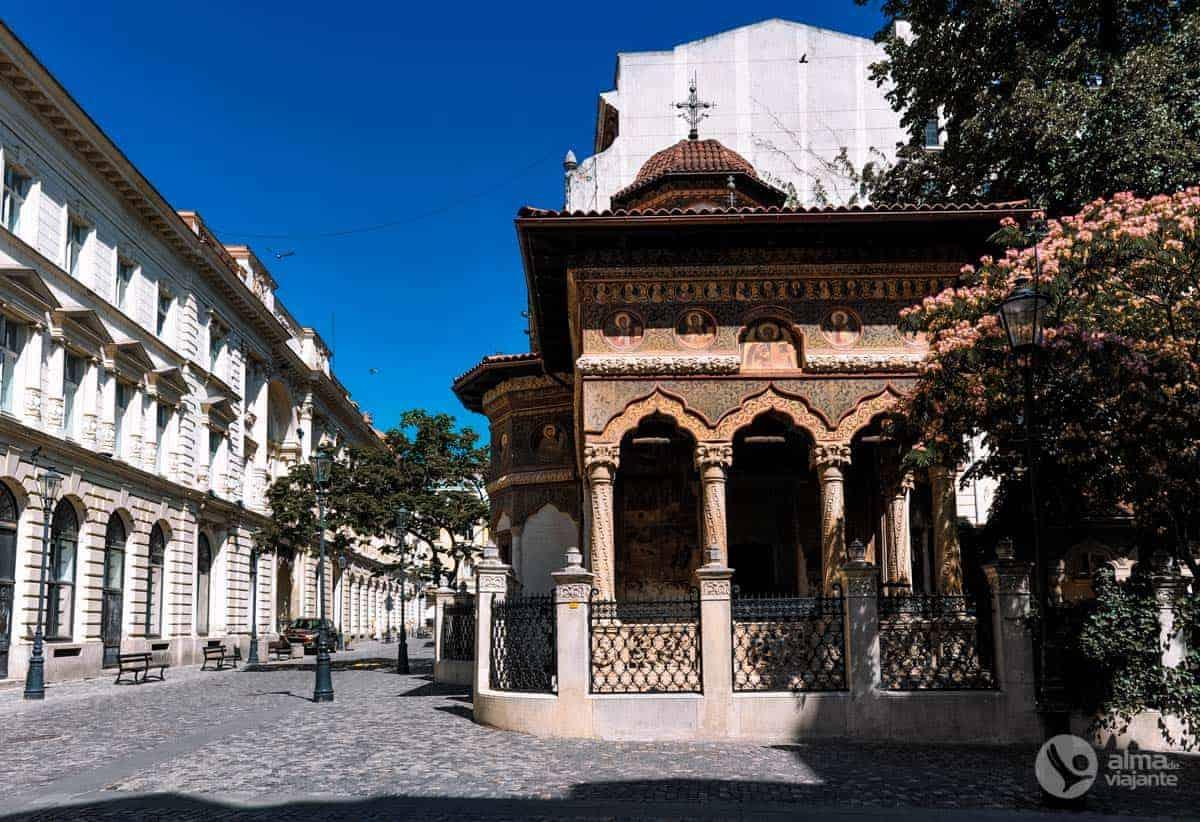 Igreja do mosteiro Stavropoleos