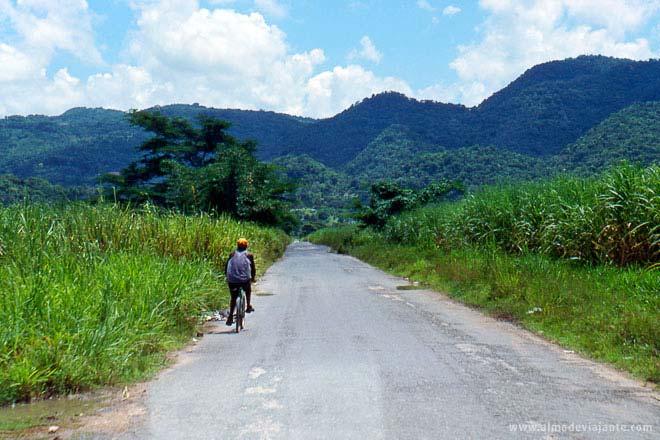 A caminho de St. Elizabeth, Jamaica