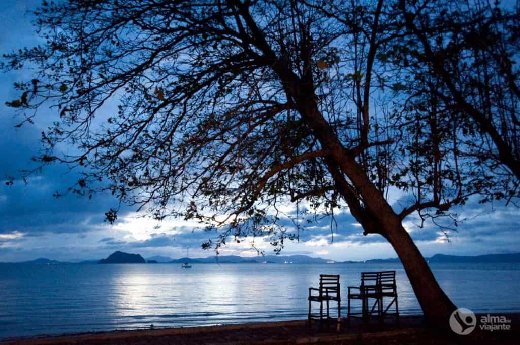 Praia Loh Pa Ret, Koh Yao Yai, Tailândia