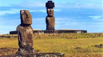 Ilha de Páscoa, a ilha dos Moai