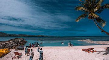 Playa de la isla Tavewa
