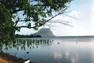 Sul da ilha Maurícia