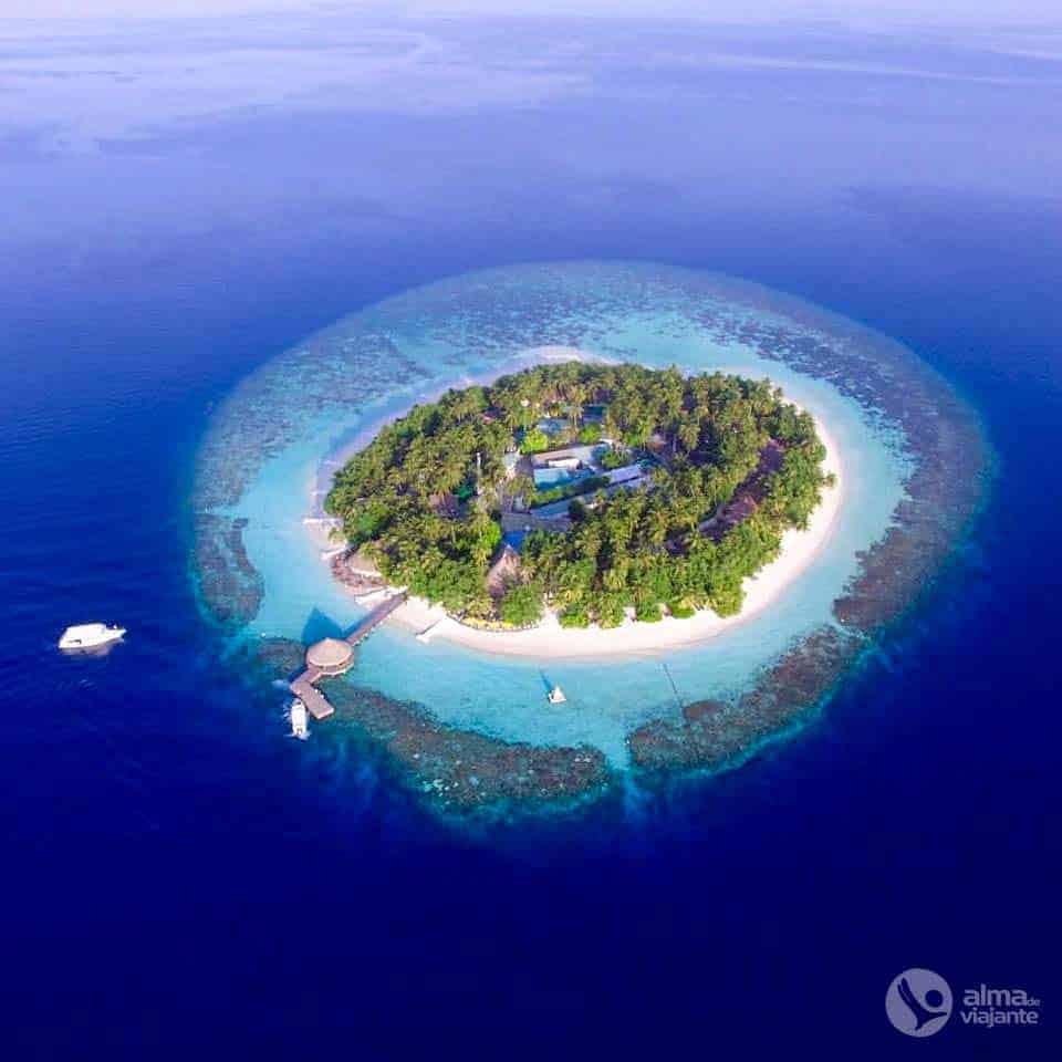 Trabalhar nas ilhas Maldivas: Angsana Ihuru Resort & Spa