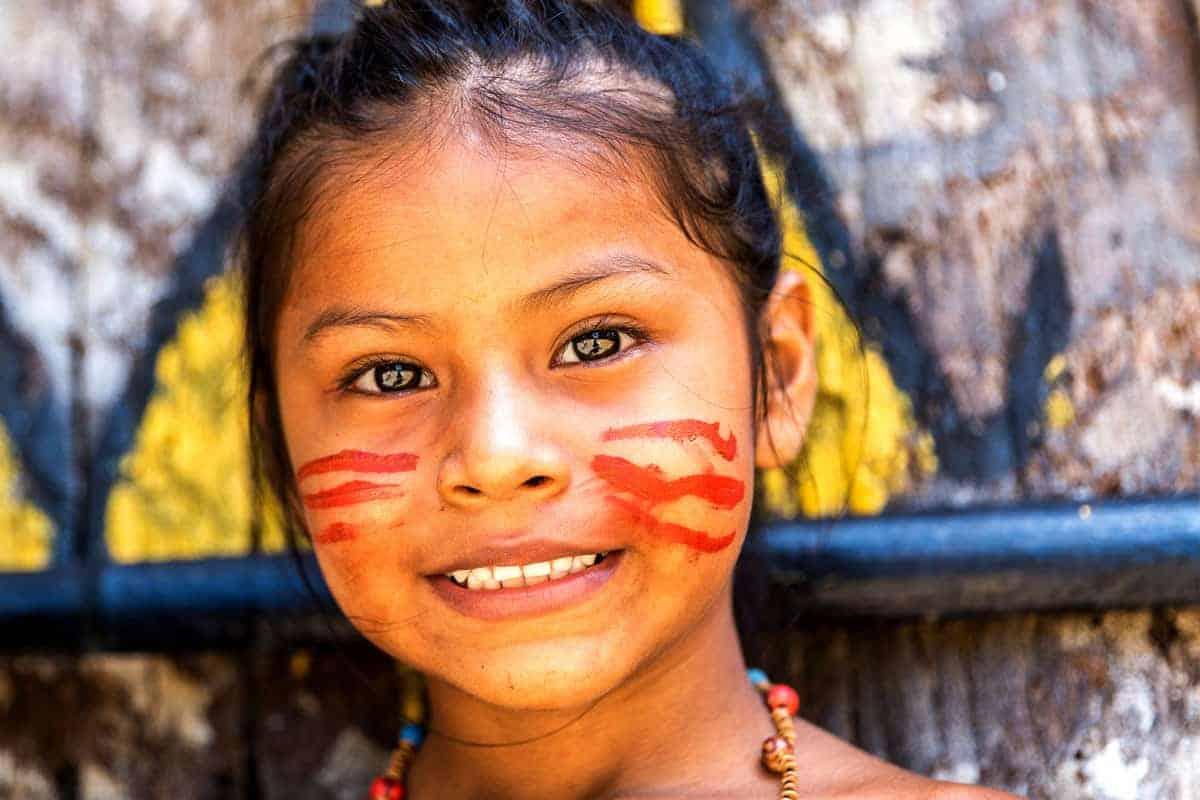 Besøg Amazonia: Indfødte indianere