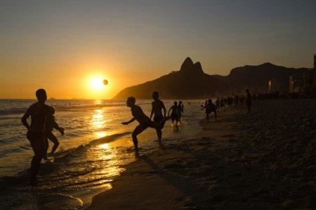 Praia de Ipanema, Rio de Janeiro, Brasil