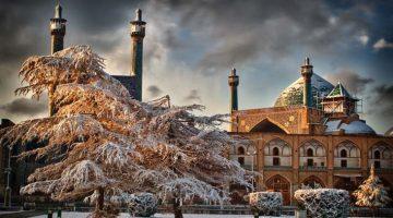 E se fossemos ao Irão no inverno?