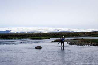 Cicloturismo na Islândia