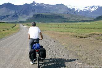 Bicicleta na Islândia