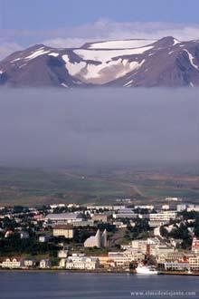 A capital Reiquejavique, Islândia