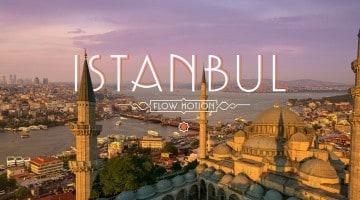 Istambul, fluir pela cidade dos contos (timelapse)