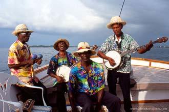 Cruzeiro ao largo de Negril, Jamaica