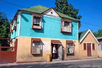 Quotidiano em Fallmouth, Jamaica